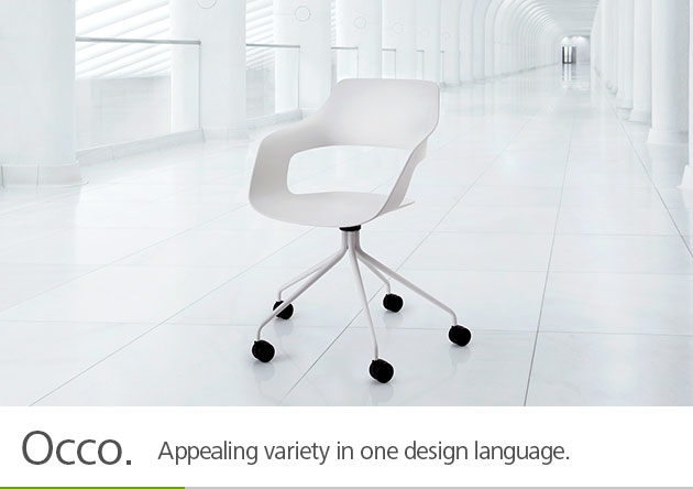 Occo. Appealing variety inone design language.